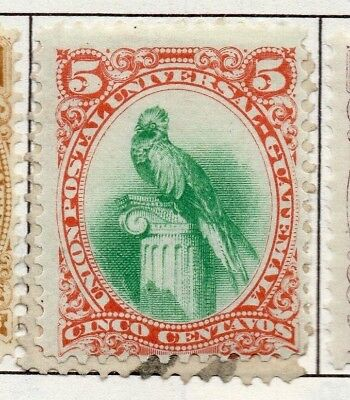 Guatemala 1871-1902 Early Issue Fine Used 5c. 138949