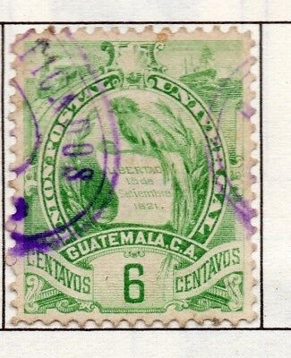 Guatemala 1886-1902 Early Issue Fine Used 6c. 138968