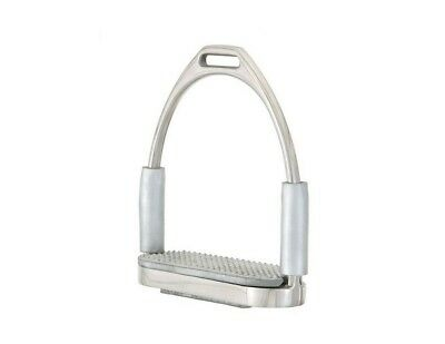 EquiRoyal Stirrups Flexible Joint Pivot Stainless Steel 24-3040