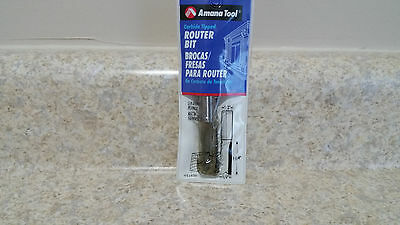 Amana 45420 Double Flute Carbide Tipped Router Bit(New In Packaging)