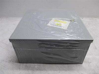 NEW Hoffman A-12N126 Industrial Electrical Control Panel Enclosure Box 12 X 12