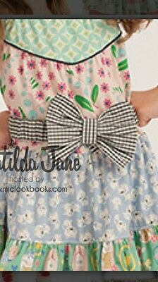 Matilda Jane EEUC Wonderful Parade June Bow Belt M/L