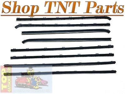 Dart Top Catwhiskers Hardtop Beltliners Felt Kit 1967 68 69 Sweeps GT FAST SHIP
