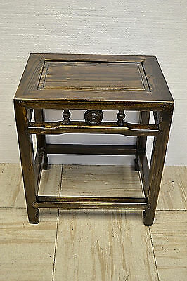 Chinese  Wooden  Stool Table Display Stand 73-02