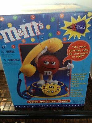 M & M Talking Telephone Animated New In Box Voice Activated
