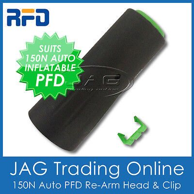 Rfd Auto Pfd Re-Arm Head & Clip Only - Recharge Automatic Inflatable Life Jacket