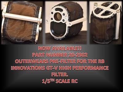 1/5 RC Outerwears Pre Filter for GT-V Senad Area RC Rovan & F5M Tecumseh filter