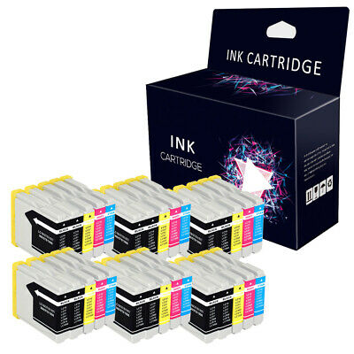 30 Ink Cartridges for Brother LC1000 LC970 DCP135C MFC235C MFC440CN