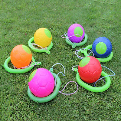 "4.72"" Diameter Ball Skipper skipping Rope Toy Foot Hopper Jumping Toy Skip Ball"