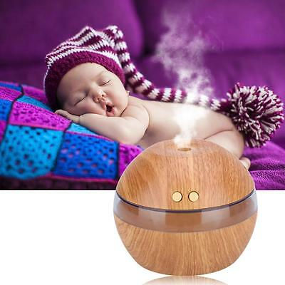 Essential Oil Aroma Diffuser Ultrasonic Humidifier Air Mist Aromatherapy Gray SP