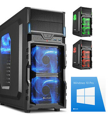 Gamer PC AMD A8 7600 4x 3,8 Ghz Radeon R7 8GB 1TB Gaming Win10