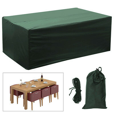 Heavy Duty Waterproof Protection Rattan Garden Furniture Dust UV Rain Cover