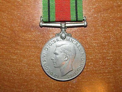 WW2 Australian issue Defence Medal 1939-1945 named McMahon