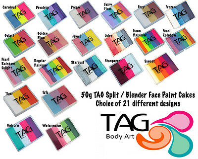 50g TAG Split / Blender Cake Face Paint
