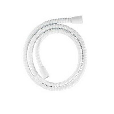 Argos Value Range 1.25M Shower Hose - White Pvc Anti-Kink Easy Clean