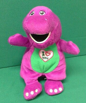 "Barney Sings ""I Love You"" theme tune Plush Toy"