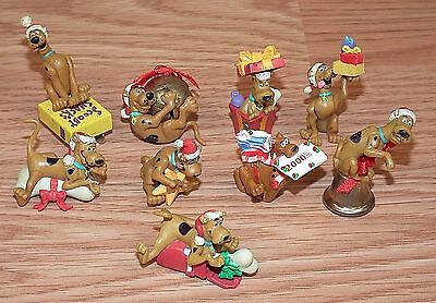 *Lot of 9* Vintage 1998-2000 Small Various Scooby-Doo Ornaments For Repair *READ