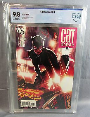CATWOMAN #59 (Adam Hughes Cover) White Pages CBCS 9.8 NM/MT DC 2006 cgc