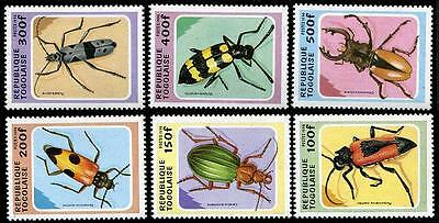TOGO Sc.# 1706-11 Insects Stamps