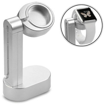For Apple Watch 38-42mm Edition Silver Cradle Stand Holder (with Package)