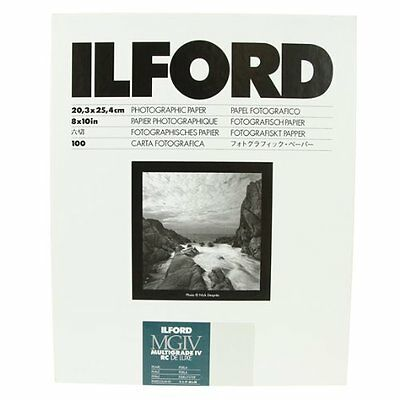 Ilford B&W Paper 8X10 Multigrade IV 100 Pack Pearl