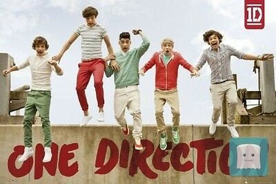 """1Art1 59824, Poster """"one Direction - Jumping"""", 91 X 61 Cm (Lingua Inglese)"""