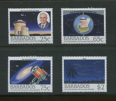 15 Sets of 1988 Barbados Stamps 735 - 738 Cat Val. $141 Harry Bayley Obsveratory