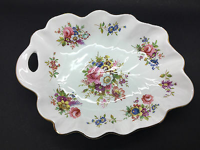 Hammersley Howard Sprays Bone China Leaf Dish signed F. Howard