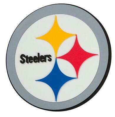Pittsburgh Steelers 3D Fan Foam Logo Sign Bild,NFL Football,Relief Wandlogo