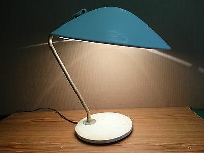Vintage Mid-Century Modern Table Lamp Lightolier By Gerald Thurston