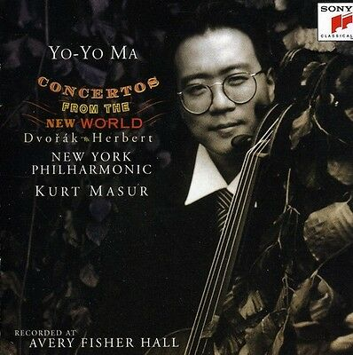 Yo-Yo Ma - Concertos For The New World [New CD] Holland - Import