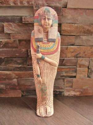 RARE Stunning Unique Egyptian Ushabti Ancient Middle Kingdom Funerary Statue