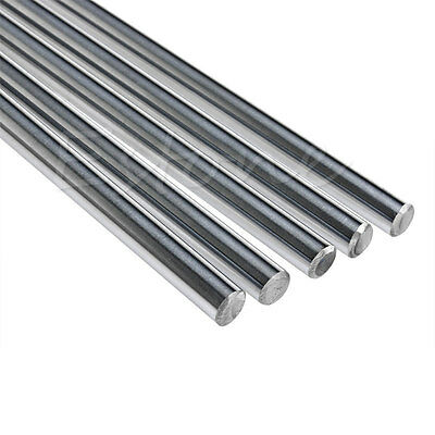 1x OD 8mm x 400mm Bearing Steel Cylinder Liner Rail Linear Shaft Optical Axis