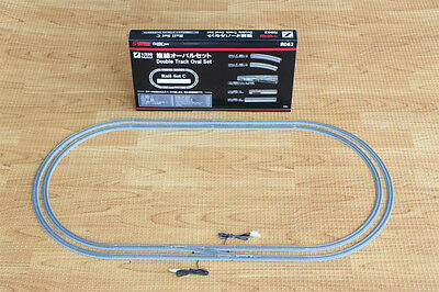 Rokuhan R062 Rail Set C Double Track Oval Set (1/220 Z Scale)