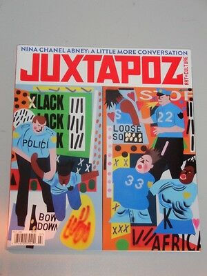 Juxtapoz #186 July 2016 Art Culture Us Magazine Nina Chanel Abney<