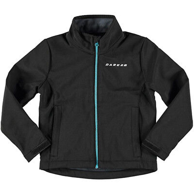 Dare2b Derive Softshell Junior Jacket - Black