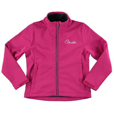 Dare2b Derive Softshell Junior Jacket - Pink