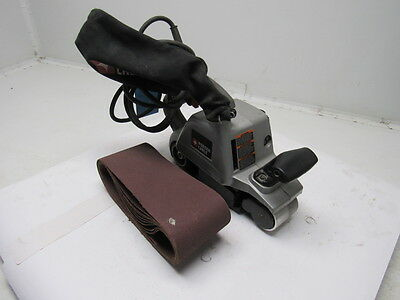"""Porter Cable Model 360 Electric Belt Sander 3"""" X 24"""" W/Dust Collection"""
