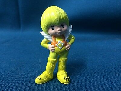 "Rainbow Brite Collectible Rubber Mini Figure ""canary Yellow"" Figure Made 1983"