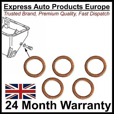 5 x Sump Drain Plug Washer 14mm for VW Golf MK1 MK2 & MK3 Polo