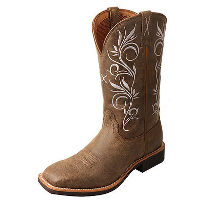 WTH0012 Twisted X Ladies Top Hand Western Cowboy Boot - Bomber NEW