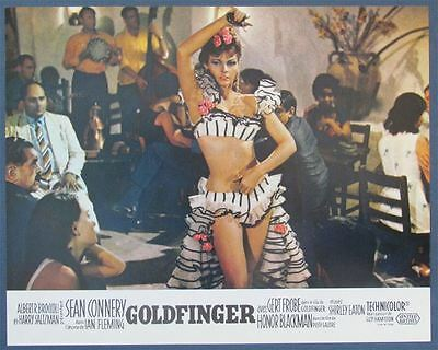 Original  1970's GOLDFINGER  007 Sean Connery James Bond Re-Release French