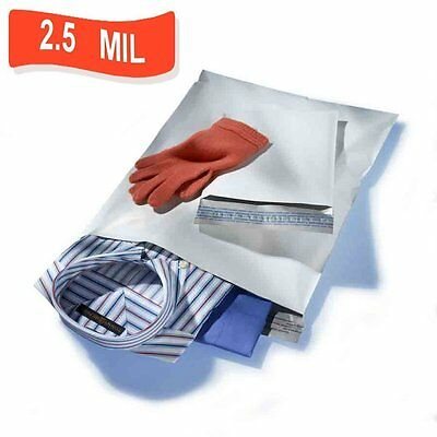 """1000 9"""" X 12"""" Poly Mailer Shipping Mailing Envelope Bag Low Cost 2.5 Mil Thick /"""