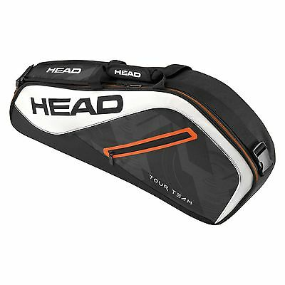 Head Tour Team Pro Squash Racket Sports Tennis 3 Racket Bag