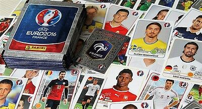 Panini EURO 2016 France - 100 sealed packs of stickers