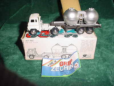 Fathers Day Gift Grip Zechin Jet Pac #39 Die-Cast Metal 1/100 Collectible Trucks