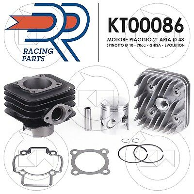 DR KT00086 KIT MODIFICA Ø47 EVOLUTION 70cc ARIA GILERA STALKER NAKED 50 2T