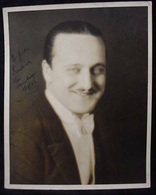 CHARLES DORNBERGER Signed Photo Autograph Orchestra 30s