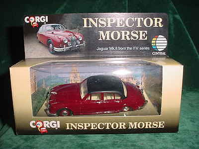 Fathers Day Gift Corgi Inspector Morse Jaguar Mk Ii (96682) Collectible Toy Cars