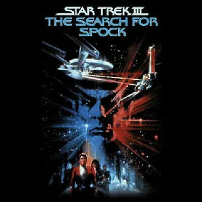 Star Trek III: The Search For Spock Poster T-Shirt, NEW